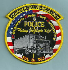 DELAWARE RIVER PORT AUTHORITY COMMERCIAL VEHICLE UNIT POLICE PATCH