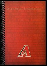 2013 Arizona Diamondbacks Media Guide - Spiral Bound Softcover - 288 Pages