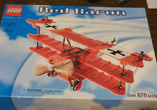 Lego Set 10024 Red Baron New Sealed HTF Airplane Tri Plane
