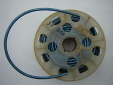 BLUE TRANSLUCENT / TRANSPARENT CABLE HOUSING - 1970's - NOS - RARE