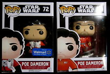 Star Wars-Poe Dameron Jump Suit + Poe without Helmet - 2 figuras-funko pop!
