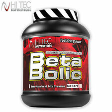 Beta Bolic 240 Capsules Creatine Stack + Beta Alanine Muscle Growth Anabolic
