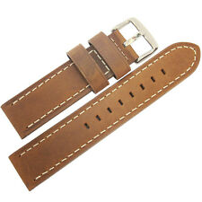 20mm Hadley-Roma MS854 Mens Rust Brown Distressed Leather Watch Band Strap
