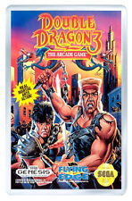 DOUBLE DRAGON 3 MEGA DRIVE FRIDGE MAGNET IMAN NEVERA