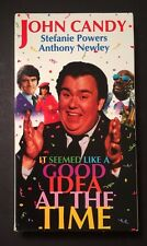 It Seemed Like A Good Idea At The Time VHS John Candy Stefanie Powers IsaacHayes