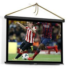 50 Inch 4:3 White Portable Fold Fabric Home HD Projector Projection Screen V8F1