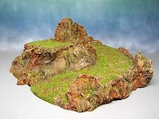 Model Railroad Scenery Mountain Pathway Painted Resin O scale Ho scale N scale