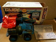 GI Joe 1991 Battle Wagon Complete w Box & Instructions Works Great.