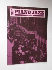 Chris Ellis/Peter Foss temprano Libro Partituras Piano Jazz 1911-1938. 1989.
