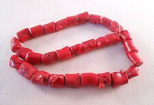 Large Chunky Coral Beads