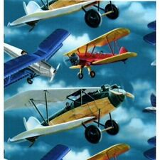 VINTAGE AIRPLANE HEAVY GIFT WRAPPING PAPER -Large 20' Roll