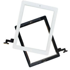 US Glass Touch Screen Digitizer W/ Home Button Assembly for iPad 2 2nd Gen White
