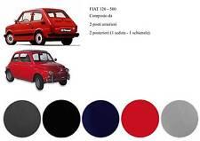 SFM003 Serie fodere in cotone per Fiat 500/126 grigio no logo