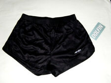 Dolfin XXXL logo Shorts Shiny Black Running Hooters Uniform Cheerleader