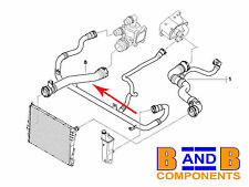 BMW E46 RADIATOR COOLANT WATER HOSE 316I -318I N42 17127516416 A766