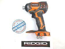 NEW RIDGID RIGID 18v 18 VOLT X4 LITHIUM CORDLESS IMPACT DRIVER BARE TOOL R8