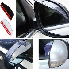 Universal Rear View Side Mirror Rain/Snow Shield Shade For Car/Truck (2 Pieces)
