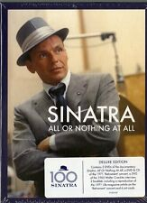 SINATRA FRANK ALL OR NOTHING AT ALL COFANETTO 4 DVD + CD NUOVO SIGILLATO