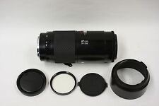 Minolta/Sony/Maxxum mount  70-210mm F4.0 w/shade, filter and end caps. Beercan