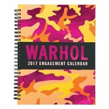 Andy Warhol 2017 Engagement Calendar by Galison Publishing