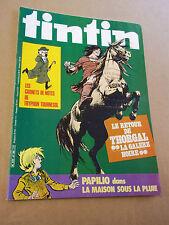 """MAGAZINE """"TINTIN, no 285"""" (1981) LES ARCHIVES DE MOULINSART"""