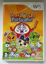 TAMAGOTCHI PARTY ON! NINTENDO Wii GAME brand new & sealed UK ORIGINAL !