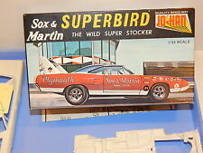 "Vintage Johan 1970 Plymouth Superbird ""Sox & Martin"" Super Stock Model Kit"