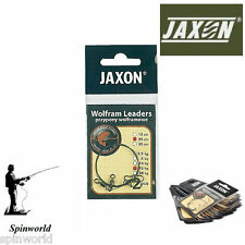 Jaxon Wolfram Leaders 35cm 20kg  Pike Fishing tungsten leader 2pcs in pack