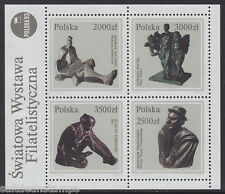 POLAND - 1992 Polish Sculptures MS - UM / MNH