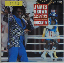 "7"" Single - James Brown - Living In America - s665 - washed & cleaned"