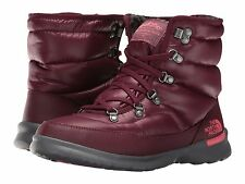 The North Face ThermoBall Lace II Women's Snow Boots RED Size 7