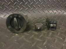 2003 VW GOLF MK4 ESTATE HEADLIGHT CONTROL / ADJUSTER AND FUEL CAP RELEASE SWITCH
