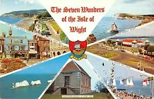 B103597 the seven wonders of the isle of wight    uk