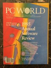 """PC World - Special Edition """"1985 Annual Software Review"""""""