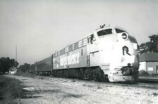 DD294 RP 1976 CRI&P ROCK ISLAND RAILROAD TRAIN ENGINE 652 CHILLICOTHE ILLINOIS