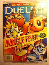 DUELIST MAGAZINE #41 POKEMON (9/'99/Sealed w/ Foil-Stamped PIKACHU Card Insert)