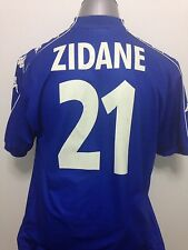 1999-00 Juventus Zidane #21 3rd Jersey Size XL (Bordaux, Real Madrid)