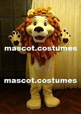 New Special Big Lion Character Mascot Costume Fancy Dress Adult Sz. 5' 9""