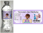 20 DOC McSTUFFINS BIRTHDAY PARTY FAVORS WATER BOTTLE LABELS