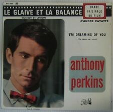 Anthony Perkins 45 Tours Cayatte Louiguy 1963