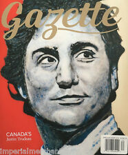 Gazette magazine Justin Trudeau The Grateful Dead Antartica Tonye Aganaba