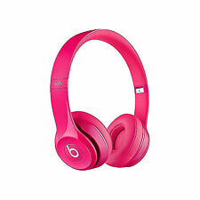 Beats by Dre Solo 2 On-Ear Headphones - Pink