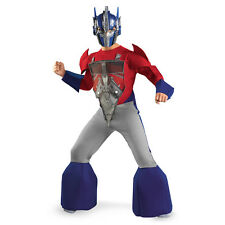 Transformers Optimus Prime Deluxe Costume New Size 4-6 Small 2012