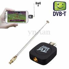 Micro USB DVB-T Digital TV Tuner Receiver UHF/VHF For Android Phone HDTV Mobile