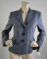 Evan Picone NWT Wear To Work Blazer Only Madison Avenue Navy White Sz 8 Ret $200