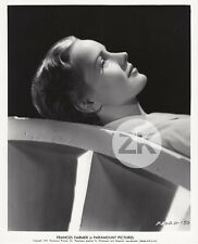 FRANCES FARMER Paramount Actress Portrait Hollywood Profil Photo 1937