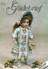 Gildebrief 4/2001 Dollmaking Antique Dress Patterns SFBJ 236, Beading Jumeau