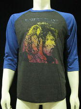 Robert Plant T-Shirt LED ZEPPELIN Manic Nirvana Music Rock Jersey Mens M Gray