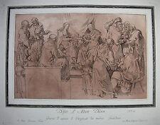 M. c. Prestel 'Santa parientes; Holy Kinship, Durero, Wolf atreve' , aquatinta, 1777