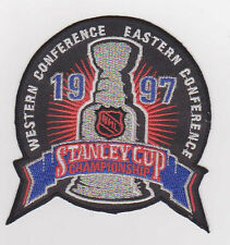 1997 STANLEY CUP CHAMPIONSHIP PATCH FLYERS VS RED WINGS BRAND NEW